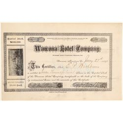Wawona Hotel Company Stock - NUMBER 2 To and From Washburn  (101408)