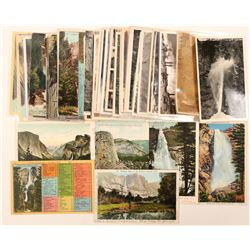 Yosemite Falls Postcards with RPC's  (102670)