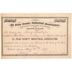 El Paso County Industrial Assoc.  (104751)