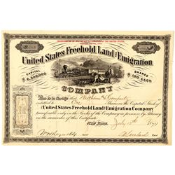 United States Freehold Land and Emigration Co. Stock  (91782)