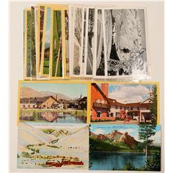 Idaho Ski Resorts Postcards with RPC's  (90742)