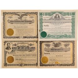 Michigan Stock Certificates (Non-Mining)  (102221)