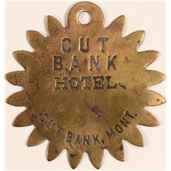 Extra Rare Key Fob for the Cut Bank Hotel  (102308)
