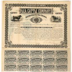 Lea Cattle Company Bond - RARE  (90559)