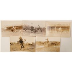 Pendelton, OR Rodeo Roundup Postcards, RPC's  (102363)