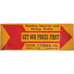 Tintic Lumber Co Sign  (101775)