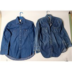 Levis Authentic Denim Western Men's Shirt & Wrangler Shirt  (102740)