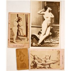 Vintage Showgirl & Nude Photographs  (77612)