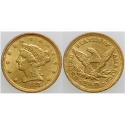 Gold Quarter Eagle  (103092)