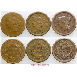 Large Cent Date Set  (103099)