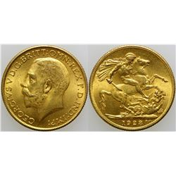 Gold Sovereign  (103168)