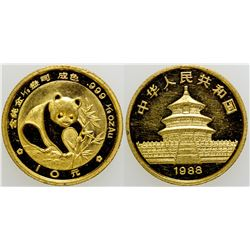 Gold Panda 1/10th Ounce Coin  (103109)