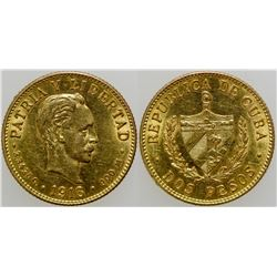 Dos Pesos Gold Coin  (103113)