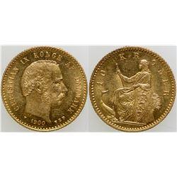 10 Kroner Gold Coin  (103110)