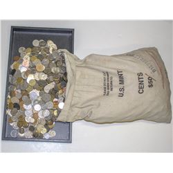 Foreign Coin Hoard  (101669)