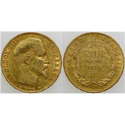 20 Franc Gold Coin  (103105)