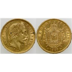 20 Franc Gold Coin  (103107)