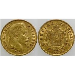 Napoleon 20 France Gold Piece  (103103)