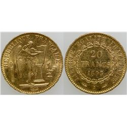 Twenty Franc Gold Piece  (103102)