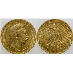 20 Mark Gold Coin  (103117)