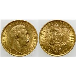 20 Mark Gold Coin  (103118)