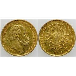 20 Mark Gold Coin  (103119)