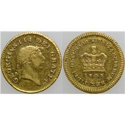 1/3 Guinea Gold Coin  (101715)