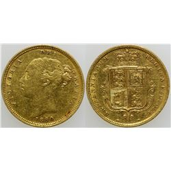 Gold Half Sovereign  (103164)