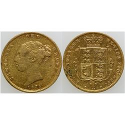 Gold Half Sovereign  (103165)