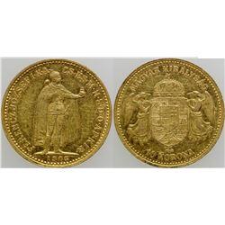 10 Korona Gold Coin  (103111)