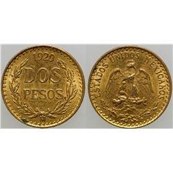 Dos Pesos Gold Coin  (103156)
