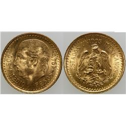 Dos y Medio Pesos Gold Coin  (103157)