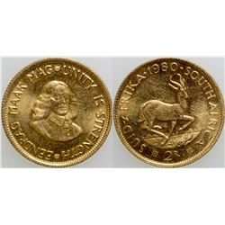 South African Two Rand Gold Coin  (101703)