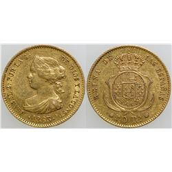 40 Reales Gold Coin  (101717)