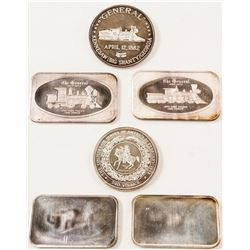 """""""The General"""" Silver Bars  (571726)"""