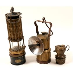 Miner's Lamps (3)  (102643)