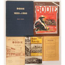 Bodie, CA Books (5)  (90990)