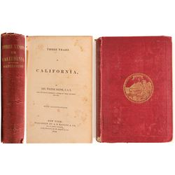 Three Years in California - Colton, 1850  (103307)
