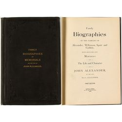 Alexander, John - Rare Biographical Work   (40868)