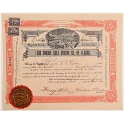Last Chance Gold Mining Co. of Alaska Stock  (103558)