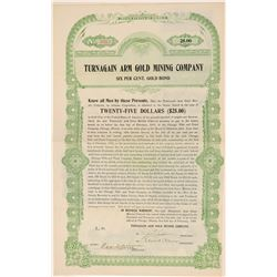 Turnagain Arm Gold Mining Company Bond  (101453)