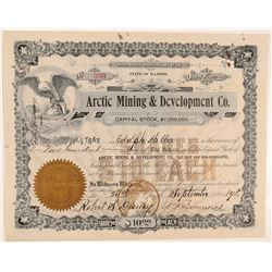 Arctic Mining & Development Company Stock  (103555)