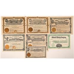 Prescott Mining Stock Collection  (91711)
