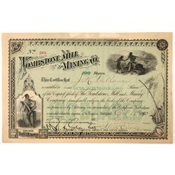 Tombstone Mill & Mining Co. Stock Certificate  (100884)