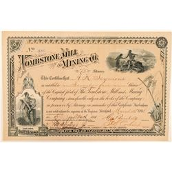 Tombstone Mill & Mining Co. Stock Certificate  (100934)
