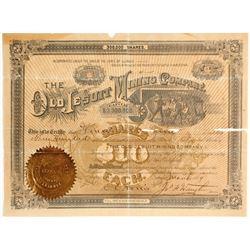 Old Jesuit Mining Company Stock  (81646)