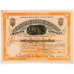 The Hidden Treasure Consolidated Mining Co. Stock Certificate  (100748)