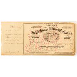 Porter G&S MC Certificate  (59500)