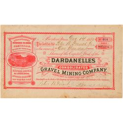 Dardanelles Consolidated Gravel Mining Co. Stock  (101488)
