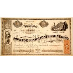 Monitor Consolidated Mining Company Stock  (80338)